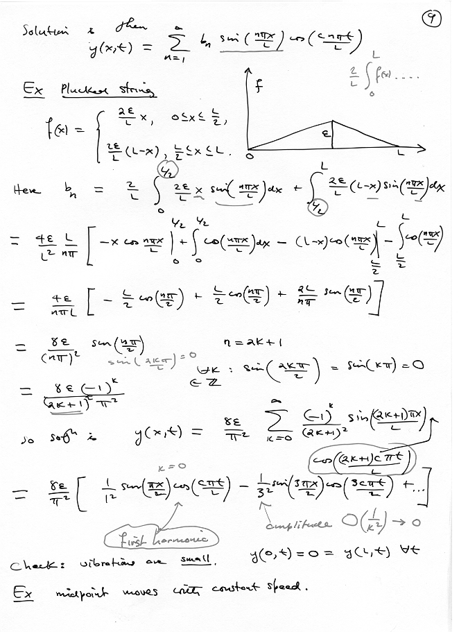 applied mathematics lecture notes pdf